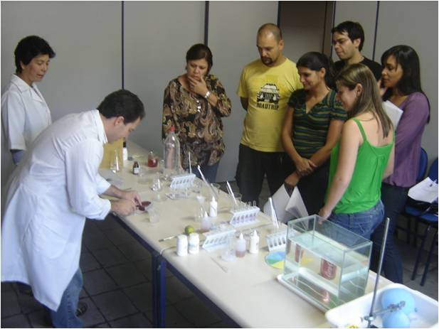 Figura 2 - B - Curso A Química do cotidiano para professores do ensino fundamental de Barra Mansa